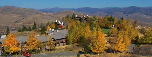 Fall at the Lodge