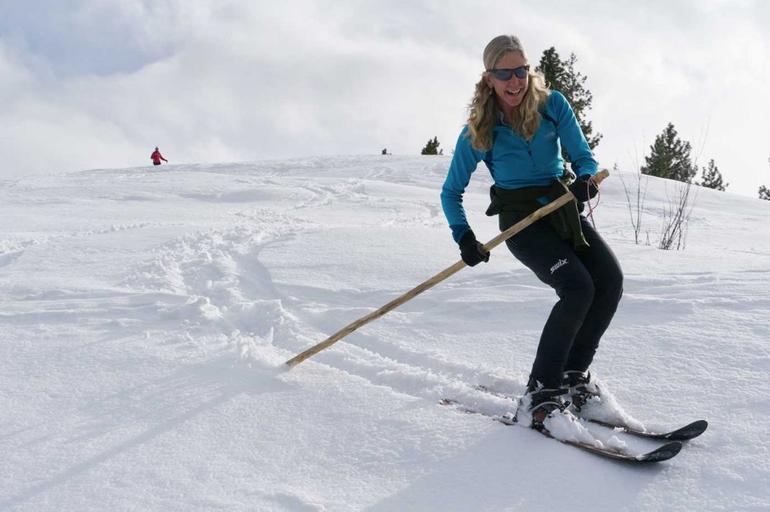 altai hok skier