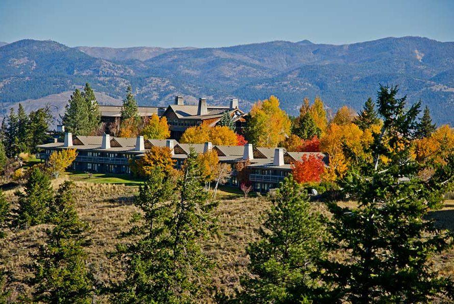 Fall at the Lodge