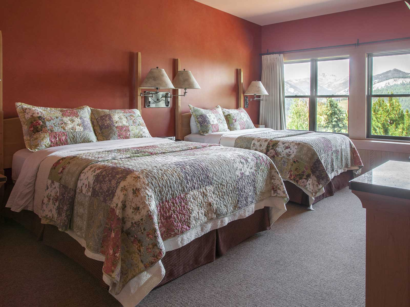 mountain view bedroom