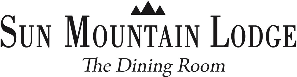 sun mountain lodge dining room logo