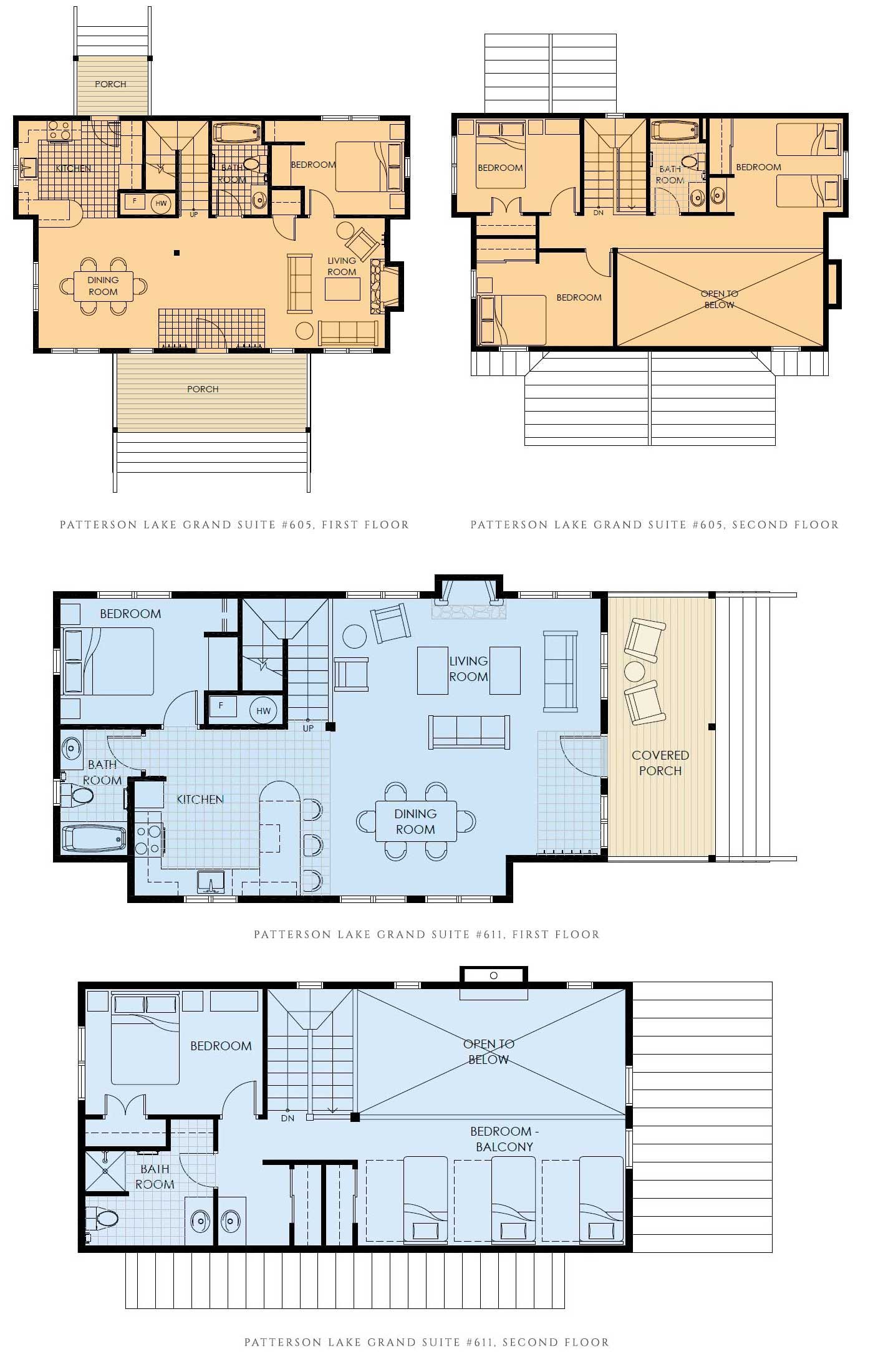Patterson Lake Grand Suite layout
