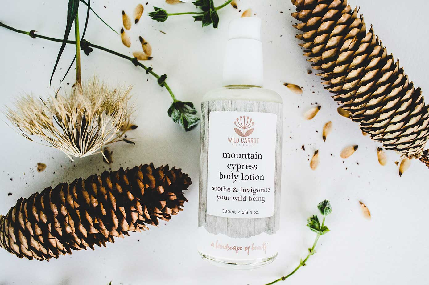 spa mountain cypress body lotion