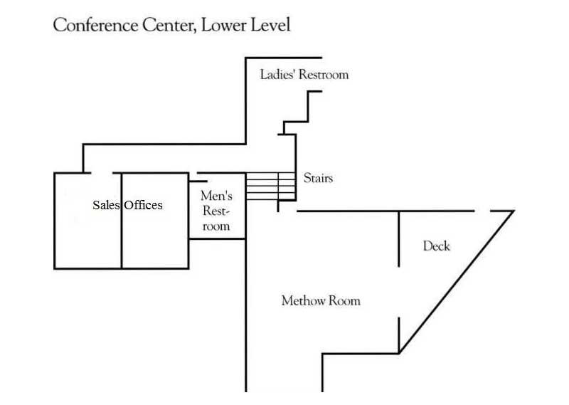 Conference Center Lower Level Layout