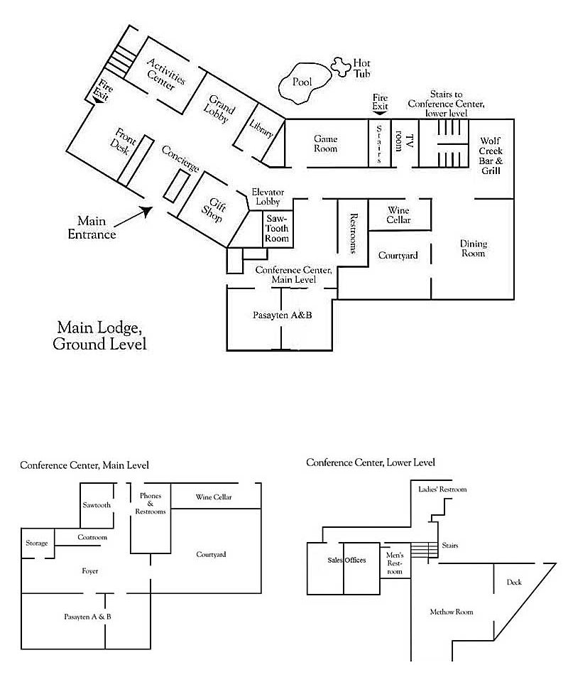 Room Map Layout