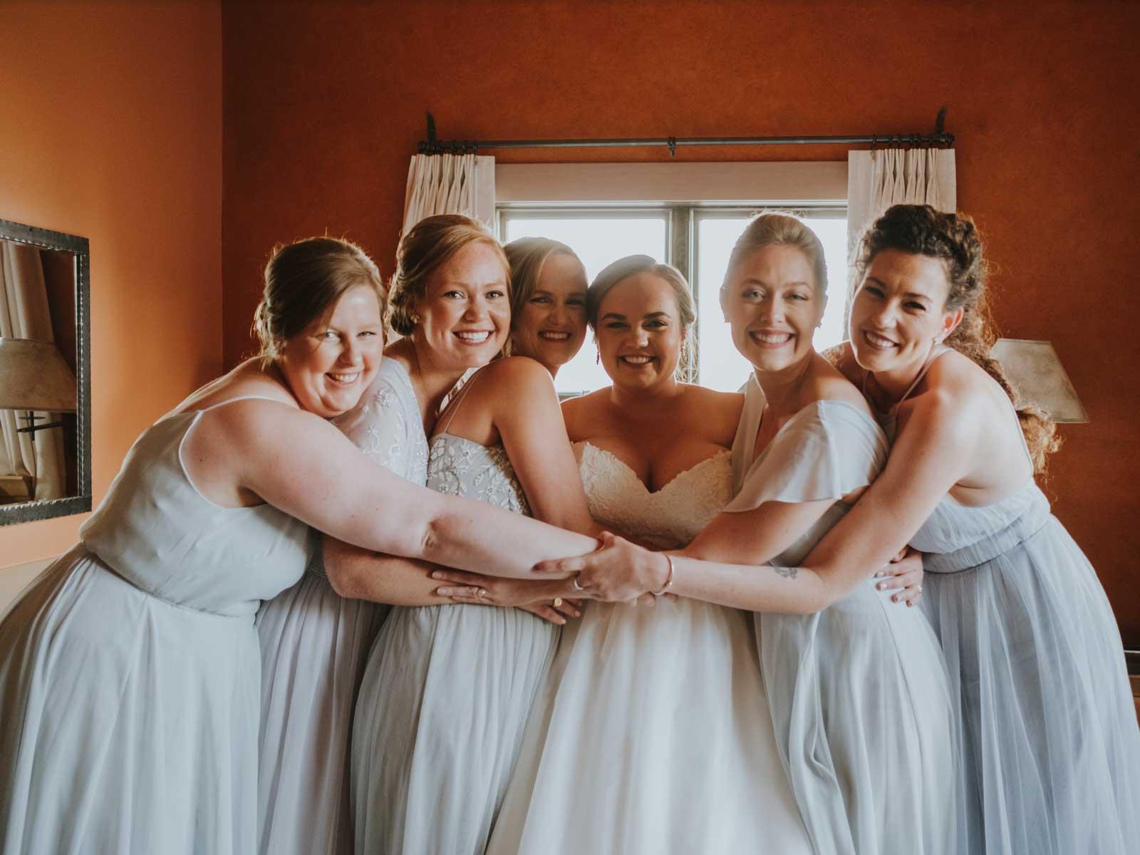 molly wedding getting ready
