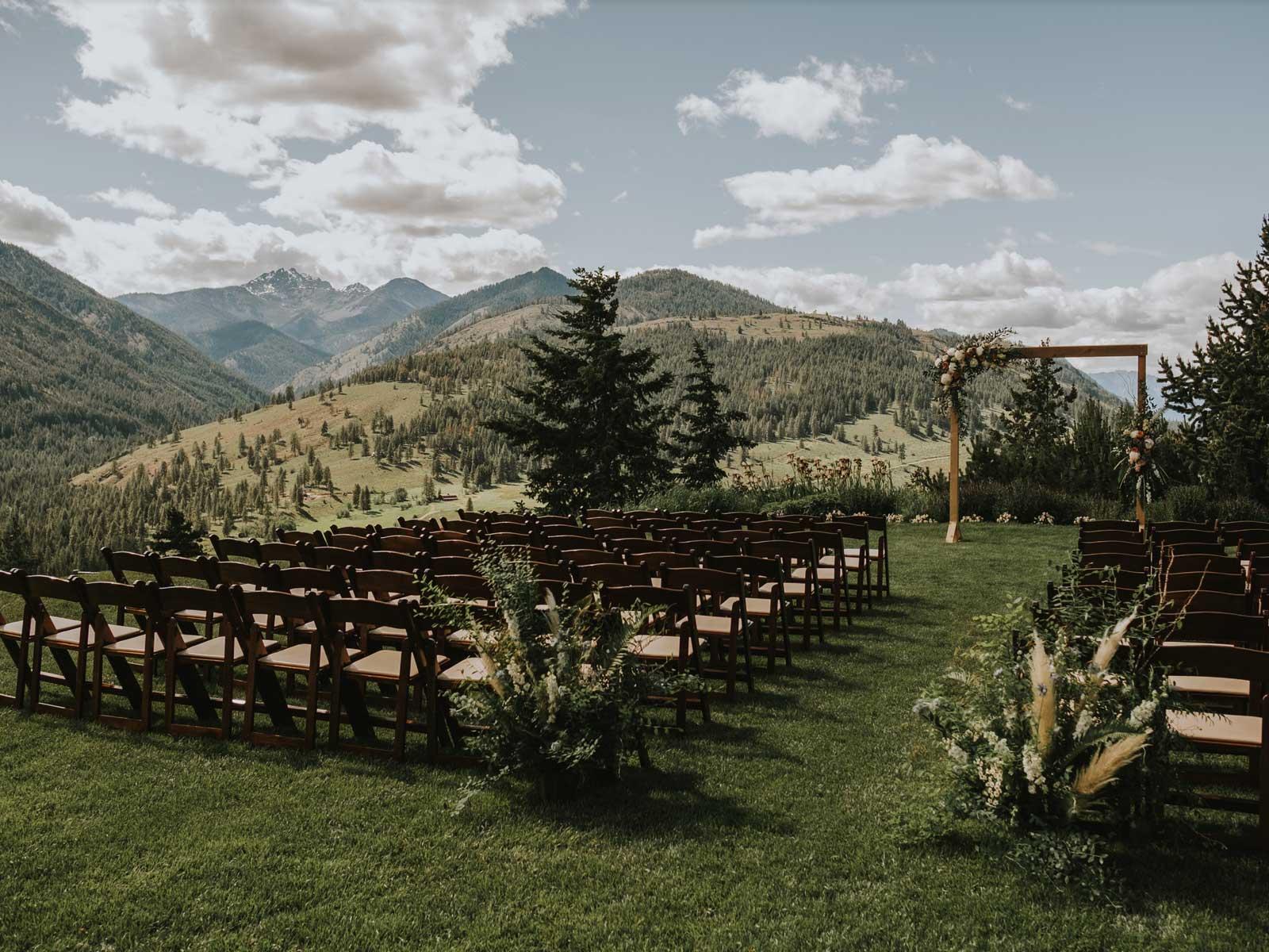 wedding set bluff