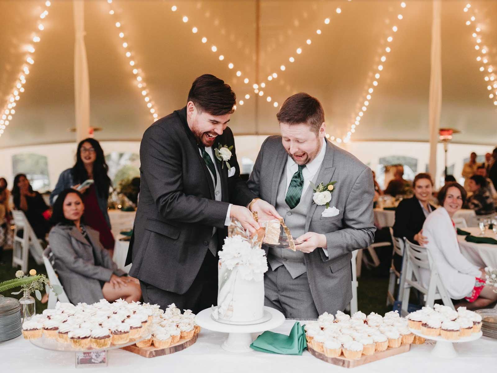 jon chris wedding cake