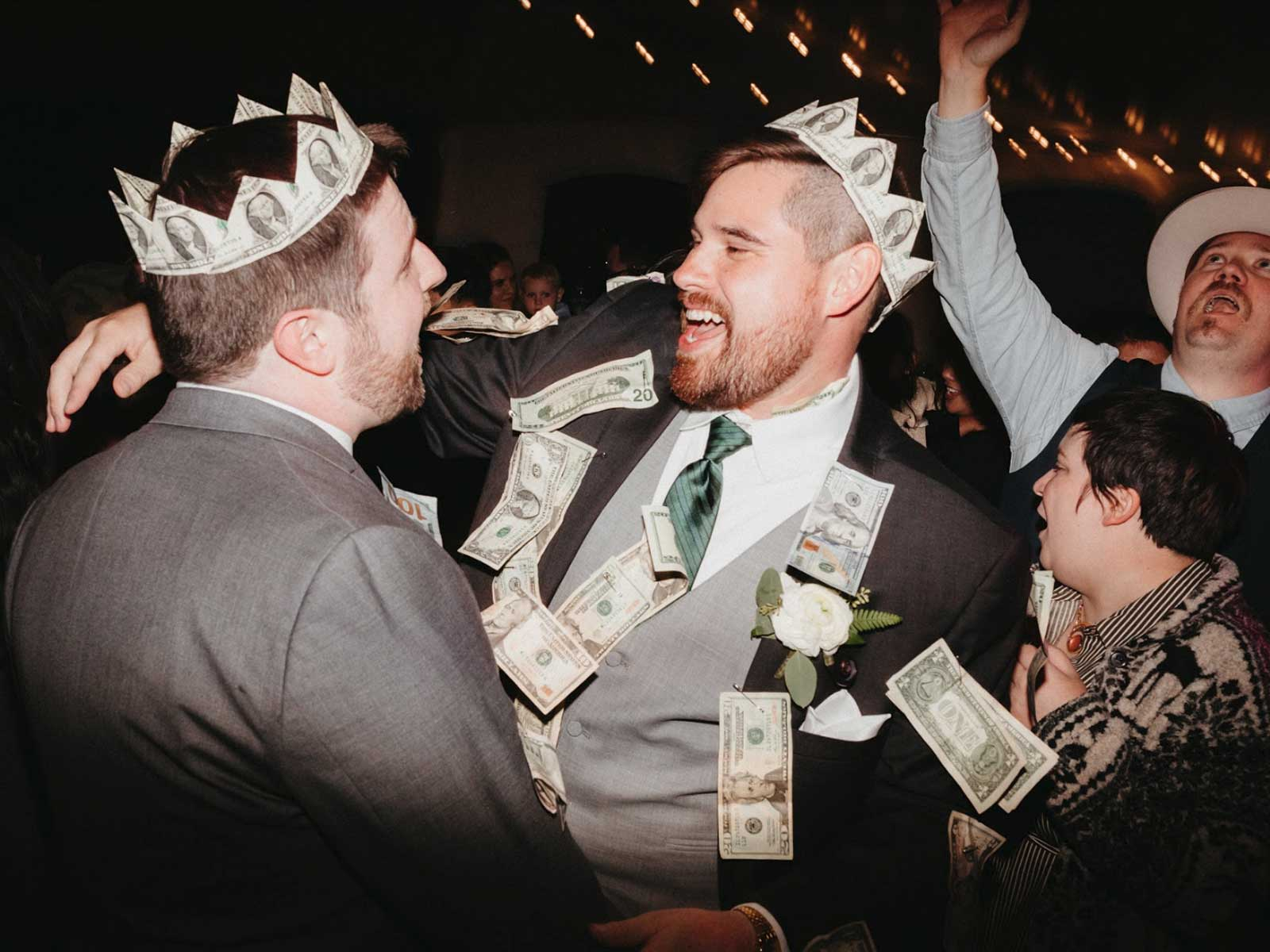 jon chris wedding money