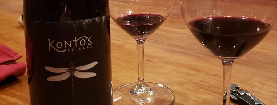 Kontos Wine banner